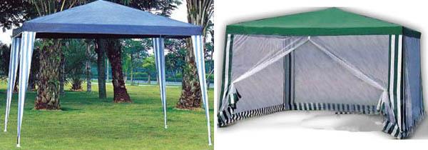 Как сделать тент шатер