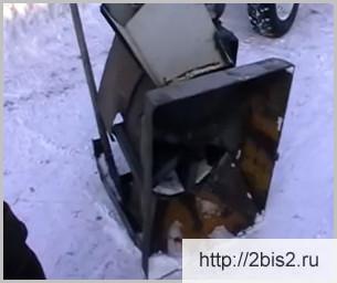 Самодельный снегоуборщик своими руками: видео-3