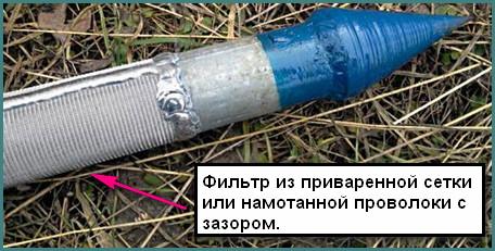 Абиссинский колодец – скважина-игла, анализ-1