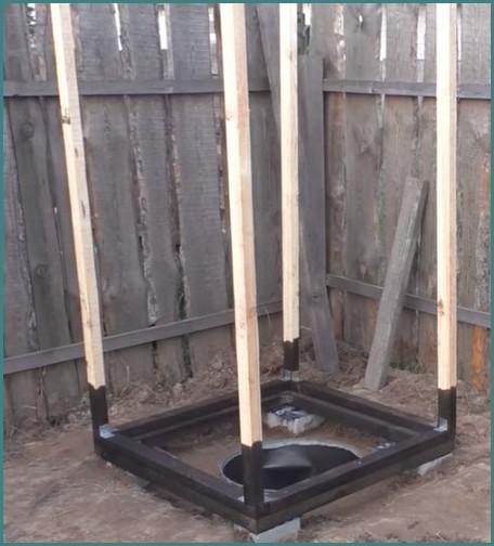 Как построить туалет на даче своими руками поэтапно, обзор-3