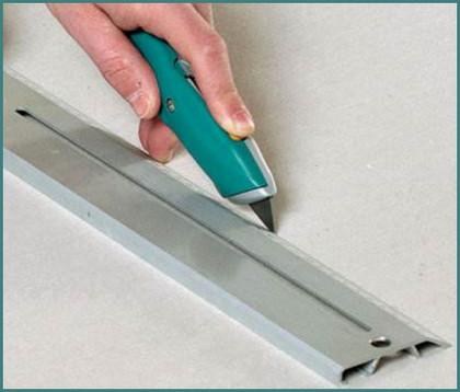 Чем резать гипсокартон в домашних условиях, советы, обзор