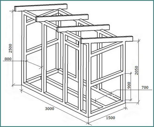 Как построить хозблок своими руками чертежи и материалы видео - TurnPike