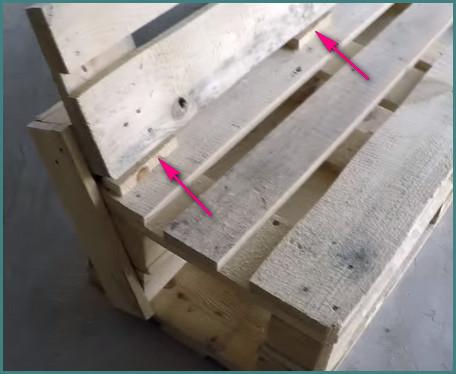 Мебель из поддонов своими руками пошагово, анализ-4