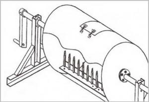 Как сделать бетономешалку из бочки своими руками: видео-1