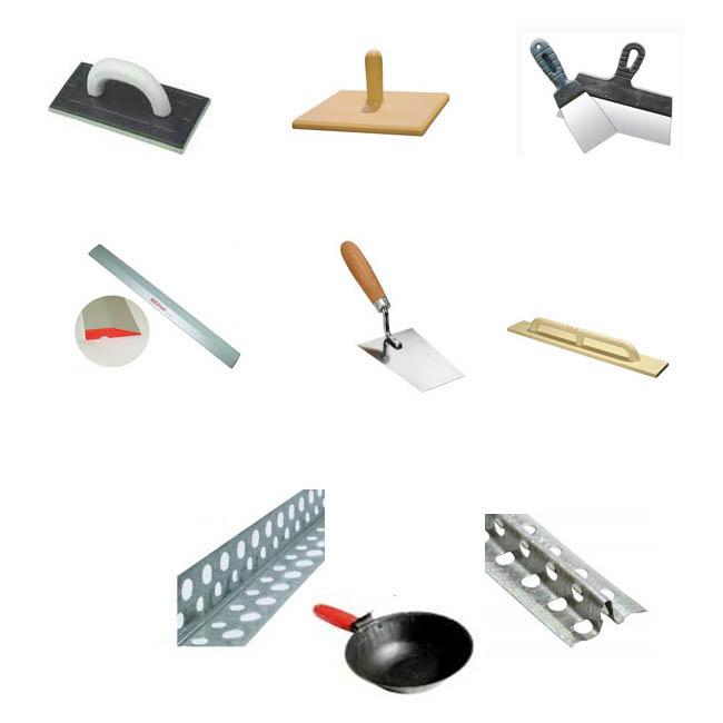 Штукатурные инструменты картинки с названиями