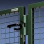 Применение сетки для дачных ворот