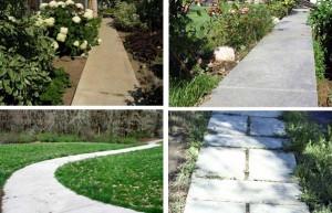 фото: садовые дорожки своими руками-1